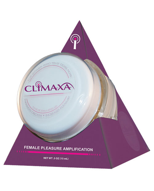 Climaxa Stimulating Gel - .5 Oz Jar