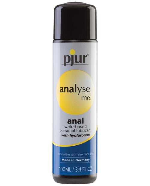 Pjur Analyse Me Water Based Personal Lubricant - 100 Ml Bottle - Casual Toys