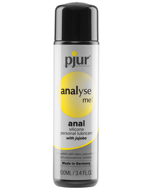 Pjur Analyse Me Silicone Personal Lubricant - 100 Ml Bottle - Casual Toys