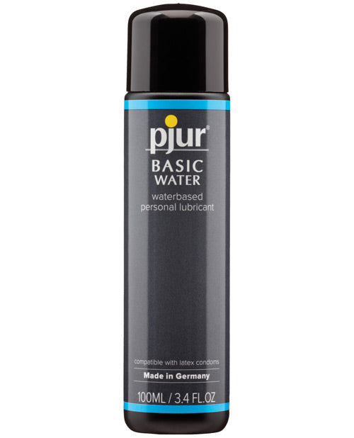 Pjur Basic Water Based Lubricant - 100 Ml Bottle