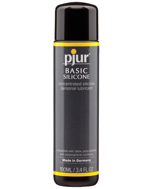 Pjur Basic Silicone Lubricant - 100 Ml Bottle - Casual Toys