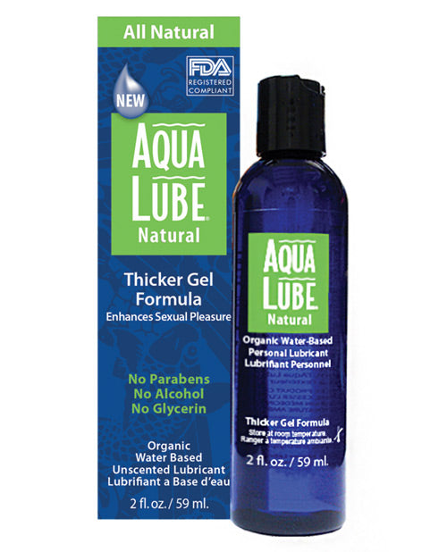 Aqua Lube Natural 4 Oz Bottle