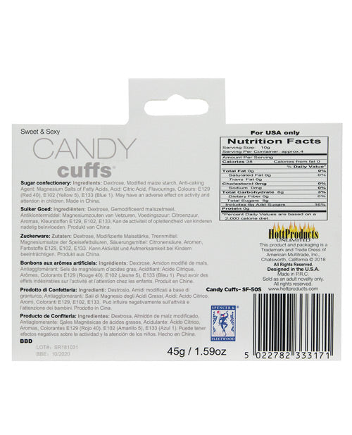 Candy Cuffs - Casual Toys