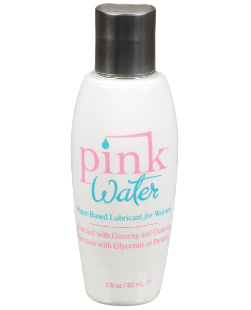 Pink Water Lube - 2.8 Oz Flip Top Bottle - Casual Toys