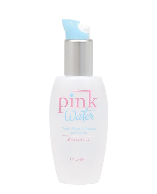 Pink Water Based Lubricant - 4 Oz Bottle W-pump - Casual Toys