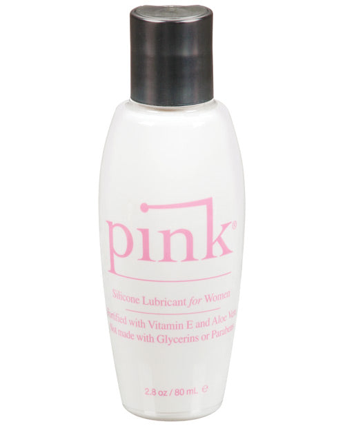 Pink Silicone Lube - 2.8 Oz Flip Top Bottle - Casual Toys