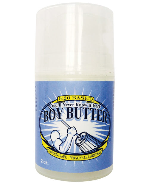 Boy Butter Ez Pump H2o Based Lubricant - 2 Oz - Casual Toys