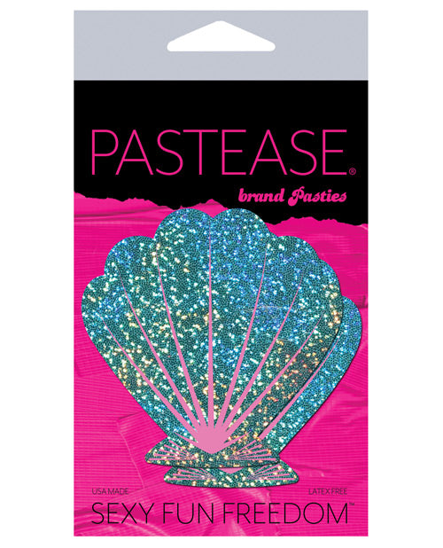 Pastease Glitter Shell - Seafoam Green And Pink O-s