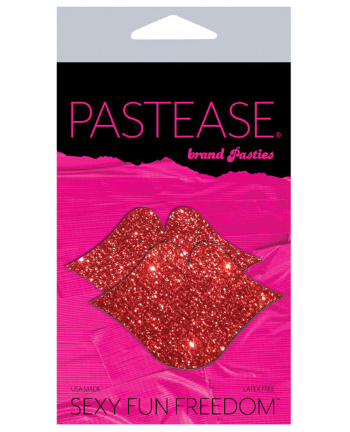 Pastease Glitter Lips - Red O-s