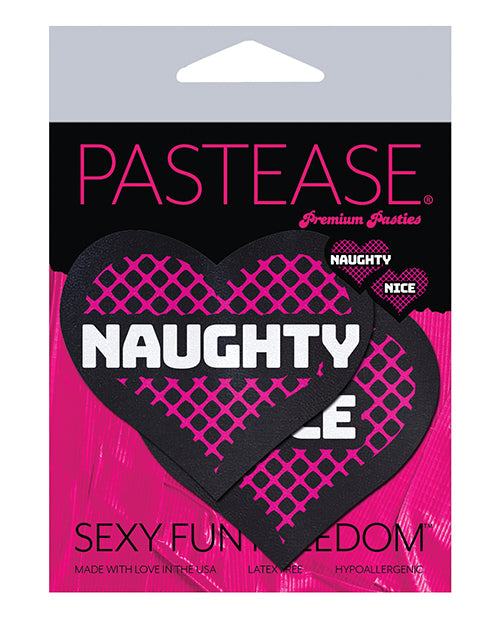 Pastease Naughty & Nice Hearts - Black-pink O-s - Casual Toys