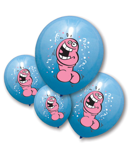 Bachelorette Pecker Balloons - Pack Of 6 - Casual Toys
