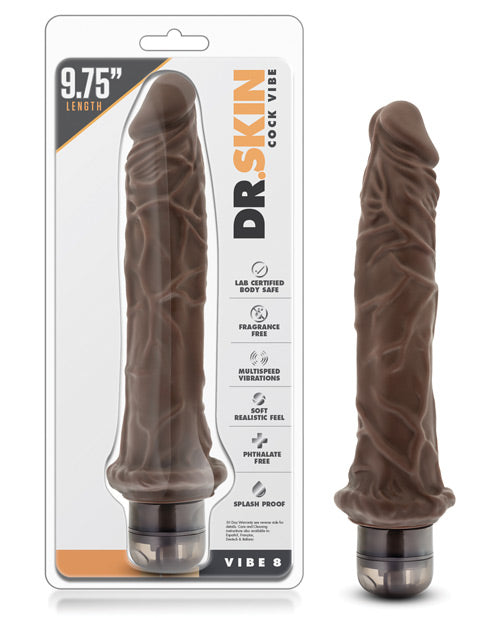 Blush Dr. Skin Mr Skin Vibe 8 - Chocolate - Casual Toys