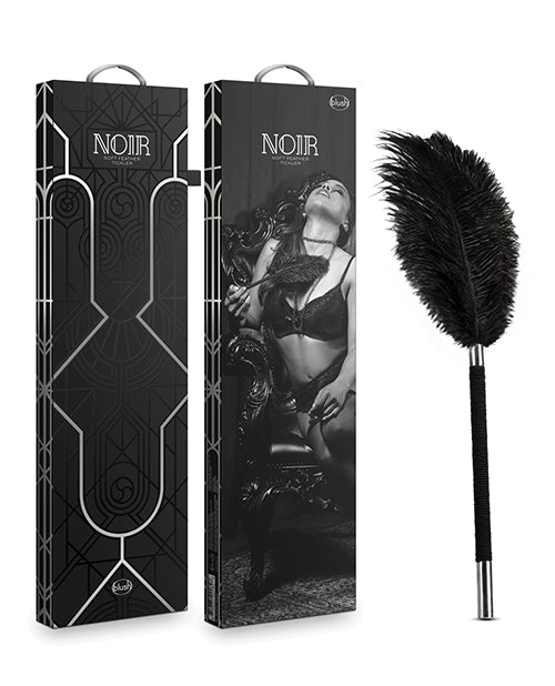 Blush Noir Soft Feather Tickler - Black - Casual Toys