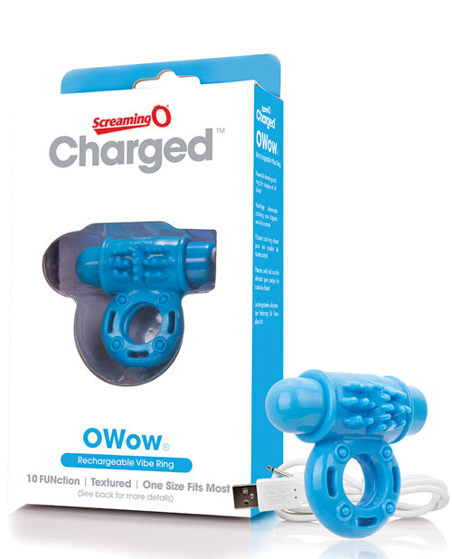 Screaming O Charged Owow Vooom Mini Vibe - Blue - Casual Toys