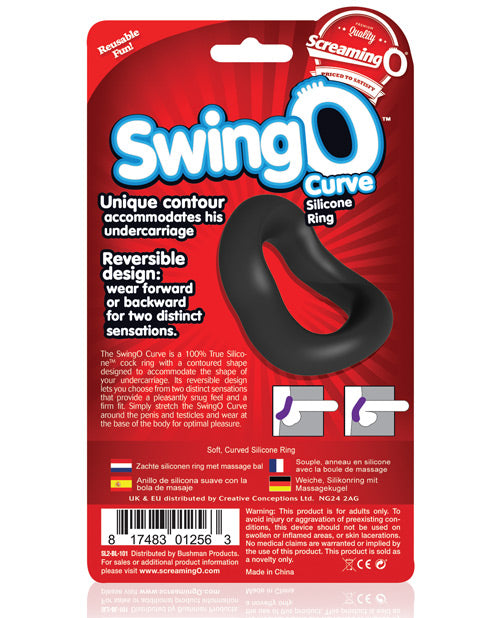Screaming O Swingo Curved - Black - Casual Toys