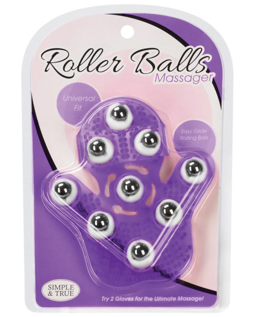 Roller Balls Massager - Purple - Casual Toys