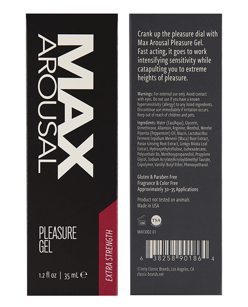 Max Arousal Pleasure Extra Strength - 1.2 Oz - Casual Toys