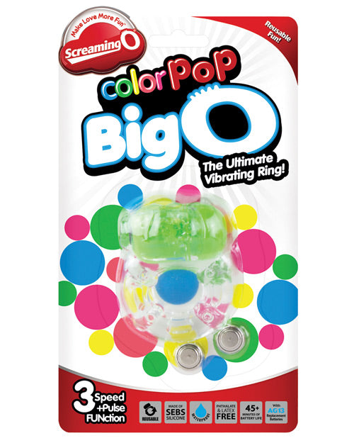 Screaming O Color Pop Big O - Pink - Casual Toys