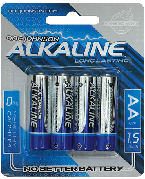 Doc Johnson Alkaline Batteries - Aa 4 Pack - Casual Toys