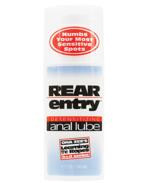 Rear Entry Desensitizing Anal Lube - 3.4 Oz - Casual Toys