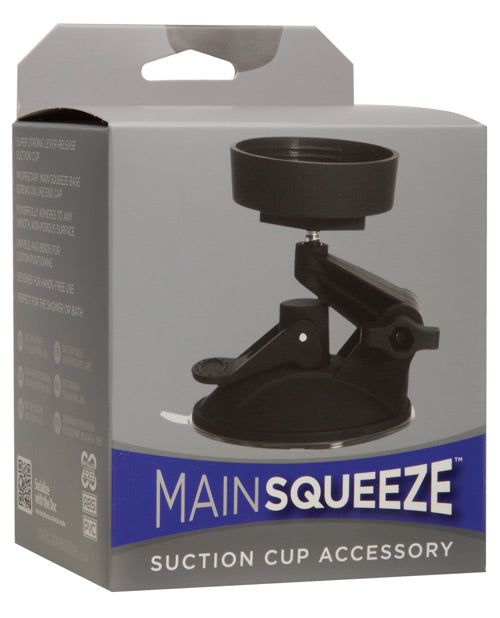 Main Squeeze Suction Cup Accessory - Black - Casual Toys