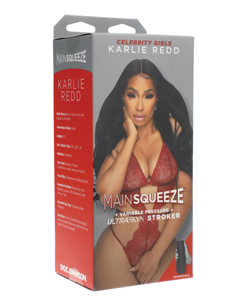 Main Squeeze Celebrity Girls Ultraskyn Pussy Stroker - Karlie Redd - Casual Toys