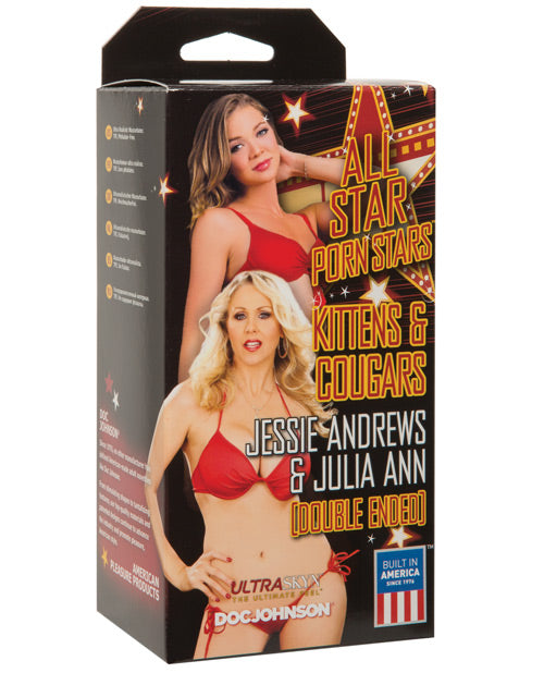 All Star Porn Stars Kittens & Cougars Jessie &rews Pussy & Julia Ann Pussy - Casual Toys