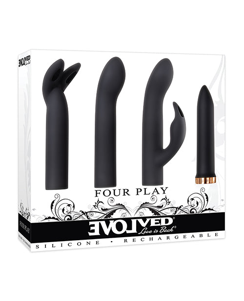 Evolved Four Play Kit - Black-rose Gold