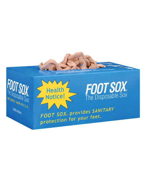 Disposable Foot Sox - Box Of 144 - Casual Toys