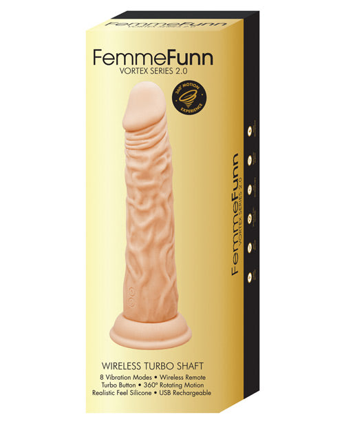 Femme Funn Turbo Shaft 2.0 - Nude - Casual Toys