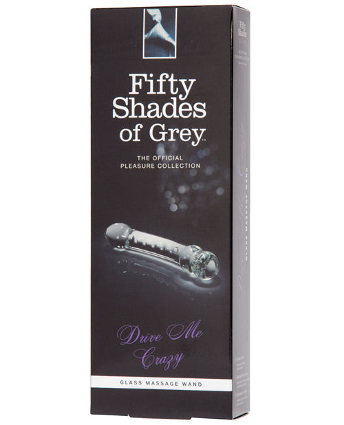 Fifty Shades Of Grey Drive Me Crazy Glass Massage Wand - Casual Toys