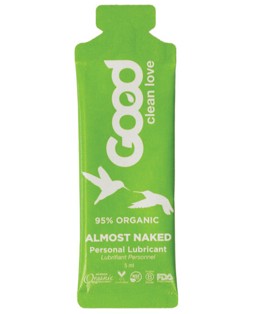 Good Clean Love Almost Naked Organic Personal Lubricant - 5 Ml Foil