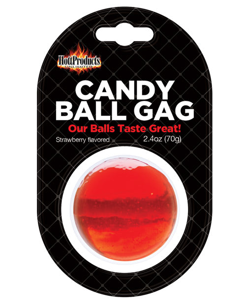 Candy Ball Gag - Strawberry - Casual Toys