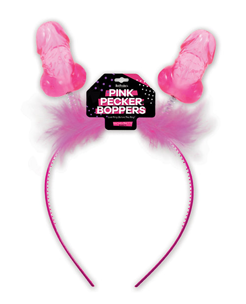 Pink Pecker Boppers Headband - Casual Toys