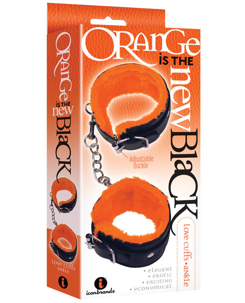 The 9's Orange Is The New Black Ankle Love Cuffs - Casual Toys