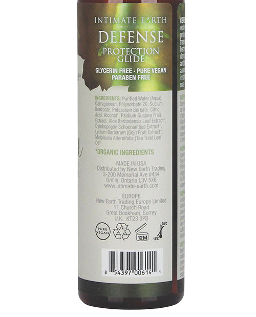 Intimate Earth Defense Protection Glide - 240 Ml - Casual Toys