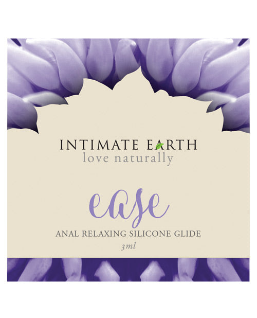Intimate Earth Soothe Ease Relaxing Bisabolol Anal Silicone Lubricant Foil - 3 Ml - Casual Toys