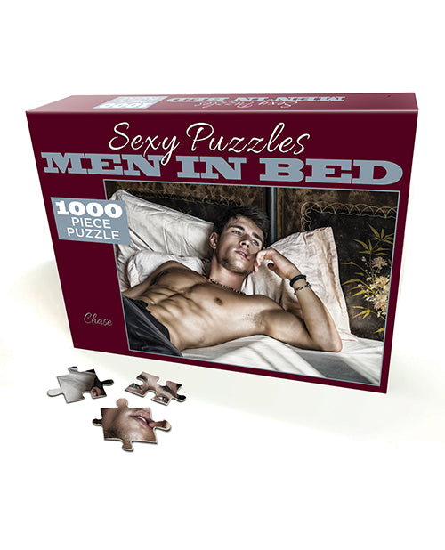 Sexy Puzzle Men In Bed 3 - Chase - Casual Toys