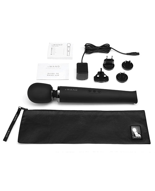 Le Wand Rechargeable Massager - Black