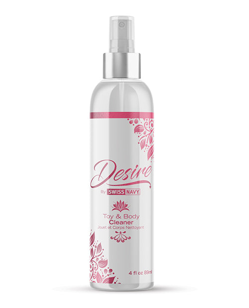 Swiss Navy Desire Toy & Body Cleaner - 4 Oz - Casual Toys