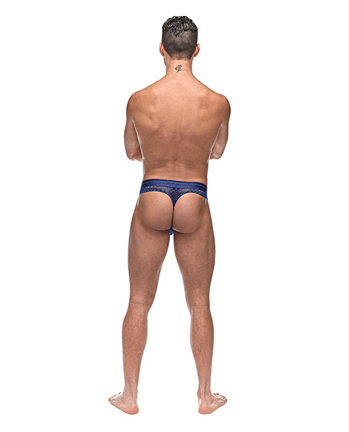 Diamond Mesh Bong Thong Blue - Casual Toys