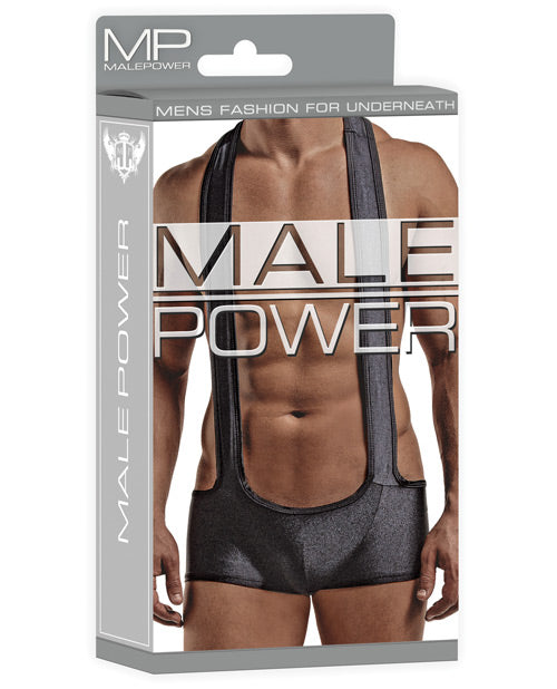 Male Power Sling Short Black - Casual Toys