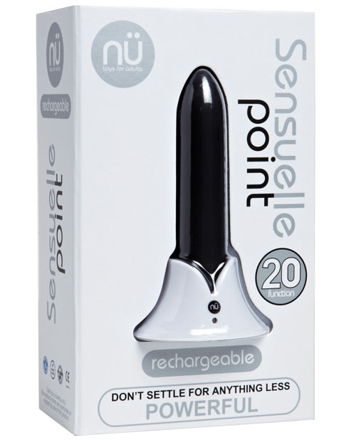 Sensuelle Point Rechargeable Bullet - Teal Blue - Casual Toys