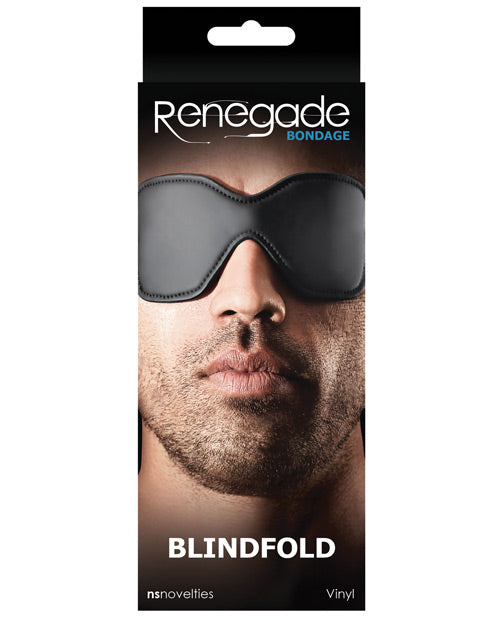 Renegade Bondage Blindfold - Black - Casual Toys