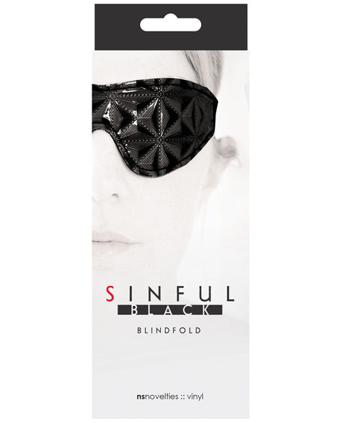 Sinful Blindfold - Black - Casual Toys