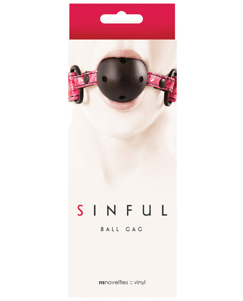 Sinful Ball Gag - Pink - Casual Toys