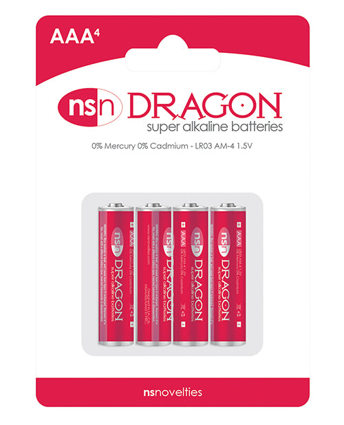 Dragon Alkaline Batteries - Aaa Pack Of 4 - Casual Toys