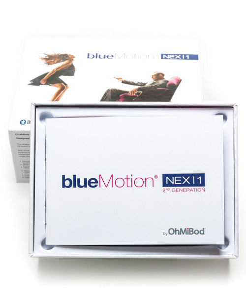 Ohmibod Blue Motion Nex 1 2nd Generation - Blue-pink - Casual Toys