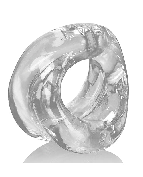 Oxballs Meat Padded Cock Ring - Clear - Casual Toys