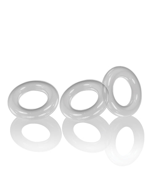 Oxballs Willy Rings - Clear Pack Of 3 - Casual Toys